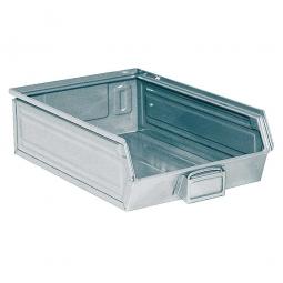 Sichtbox SB4 aus Stahlblech, 18 Liter, LxBxH 500/450 x 300 x 145 mm, feuerverzinkt