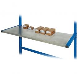 Fachboden für Kragarmregal, BxT 1067 x 400 mm, inkl. Schrauben und Muttern, ohne Tragarme