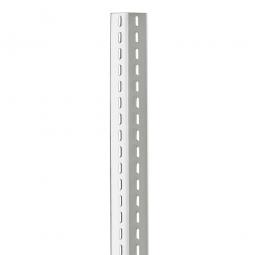Winkelprofile 60x45x2,0 mm, kunststoffbeschichtet, 3000 mm lang, Farbe lichtgrau RAL 7035