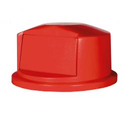 Kuppelaufsatz für Brute Container 167 Liter, rot