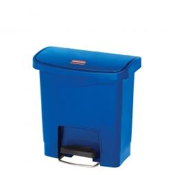 Tretabfalleimer SlimJim, 15 Liter, LxBxH 380 x 230 x 400 mm, blau