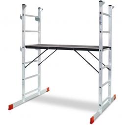 [B-Ware] - Alu-Montage-Gerüst, LxBxH 1200x410x1620 mm, Belastbar bis 135 kg