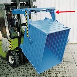 Stapler-Traversen zum Kippen für Behälter mit Volumen 0,55 m³