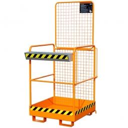 Sicherheitskorb, LxBxH 1040x835x2000 mm, Gewicht 60 kg, Traglast 240 kg