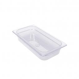Gastronorm-Schale GN1/3, LxBxH 325 x 176 x 65 mm, 2,5 Liter, Polycarbonat