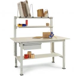 Komplett-Packtisch, BxTxH 1500x800x760-870 mm
