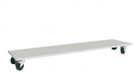Untertisch-Wagen für Tischbreite 1750 mm, HxBxT 160x1120x500 mm, ohne Bügel