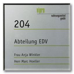 """Türschild """"Berlin"""", BxH 155x155 mm, DIN A 6"""