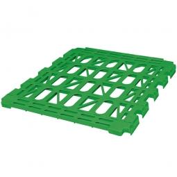 Kunststoff-Zwischenboden für 3-seitige Rollbehälter, grün