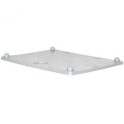 Stapeldeckel für Volumenbox, LxB 1000x700 mm, hellgrau