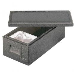 Thermobox für Menüschalen mit Deckel, 22 Liter, LxBxH 630 x 300 x 225 mm