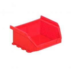 Sichtbox FUTURA FA 6, rot, Inhalt 0,4 Liter, LxBxH 90/65 x 100 x 50 mm, Gewicht 50 g