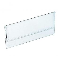 Querteiler für Klarsicht-Regalkästen B 91 mm, transparent, VE = 10 Stück