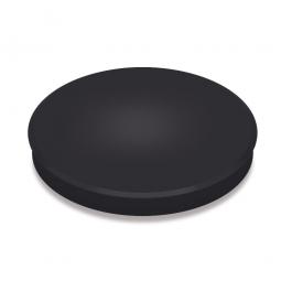 Haftmagnete, schwarz, Durchmesser 40 mm, Haftkraft 800 g, Paket=10 Magnete