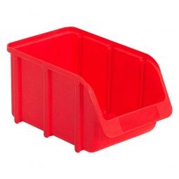 Sichtbox SOFTLINE SL 3, rot, Inhalt 3,7 Liter, LxBxH 240/210x145x127 mm, Gewicht 170 g