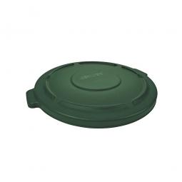 Deckel für runden Brute Container 76 Liter, grün