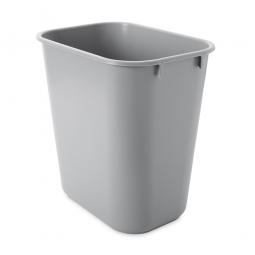 Papierkorb, 13 Liter, grau, BxTxH 290x210x310 mm