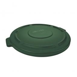 Deckel für runden Brute Container 121 Liter, grün
