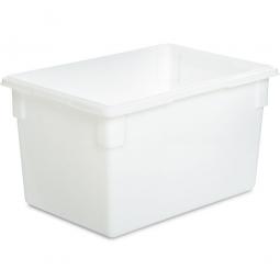 Lebensmittelbehälter, LxBxH 660 x 457 x 380 mm, 81 Liter, naturweiß