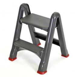 Klapptritt, Tragkraft 150 kg, grau