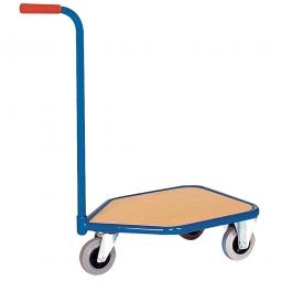 Magazinwagen mit Schiebebügel, Außenmaße LxBxH 784x450x878 mm, Tragkraft 150 kg