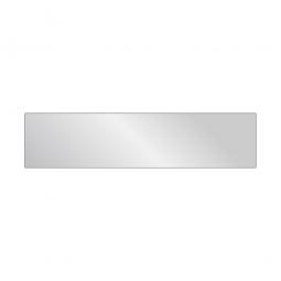 Fachboden für Aluminiumregale, geschlossen, BxT 1450 x 340 mm, für 400 mm Regaltiefe