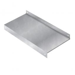 Stahlfachboden 1000x500 mm für Kragarmregal, Tragkraft 360 kg
