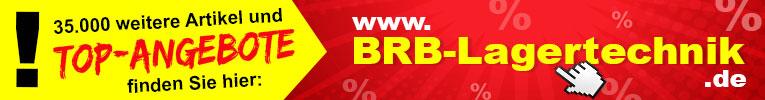 Werbebanner BRB Lagertechnik