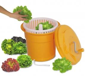 Salatschleuder, 25 Liter, ØxH 430 x 520 mm, für 5-6 Salatköpfe oder max. 4 kg