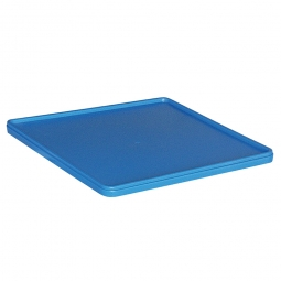 Deckel für Spülkörbe, blau, LxB 500x500 mm