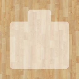 Bodenschutzmatten für harte, glatte Bodenbeläge, BxT 1200x1300 mm
