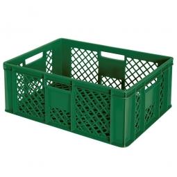 Bäckerkiste, LxBxH 600 x 400 x 240 mm, 43 Liter, grün