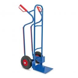 Stahl-Stapelkarre mit pannensicheren Reifen, BxTxH 520x550x1200 mm, Tragkraft 250 kg