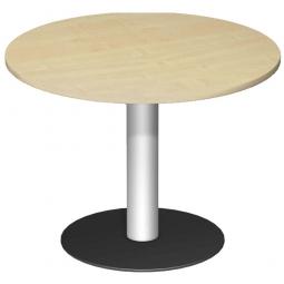 Rundtisch, Tischplatte Buche ØxH 1000 x 720 mm