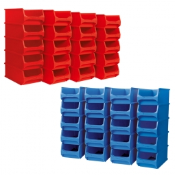 40-teiliges Sichtboxen-Set PROFI, PP, XXL-Set 2