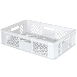 Bäckerkorb, LxBxH 600 x 400 x 150 mm, weiß