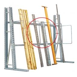 Mittelbügel für Vertikalregal, HxT 910x700 mm, Bügel-Ø 20 mm