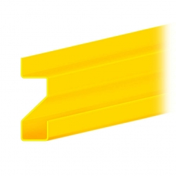 Stufentragbalken für Weitspannregale, Stecksystem, 3000 mm lang, zur Aufnahme von 25 mm Spanplatten