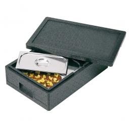 Thermobox GN1/1 mit Deckel, 14 Liter, LxBxH 600 x 400 x 145 mm