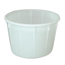 Rundbehälter, 225 Liter, Ø 860, Höhe 550 mm, weiß