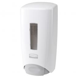Seifenspender, weiß, BxTxH 146x100x298 mm, Für 1300 ml Flüssigseife oder Schaumseife