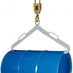 Scherengreifer für Metallfässer, verzinkt, LxBxH 1020x100x450 mm
