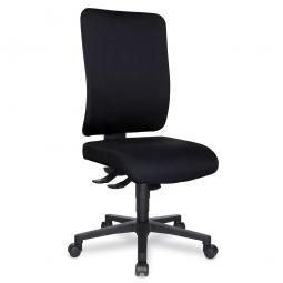 "Bürodrehstuhl ""Window"", Rückenpolster / schwarz, belastbar bis 110 kg"