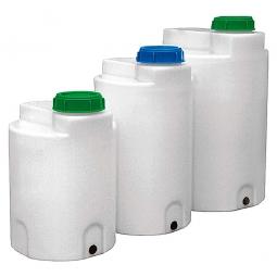 FD-C 400 Dosierfass, Inhalt 400 Liter, ØxH 790x890/980 mm, natur-transparent