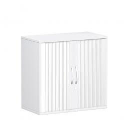 Rollladenschrank FLEX, 2OH, weiß, BxTxH 800x425x798 mm