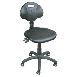 [B-Ware] - Arbeitsdrehstuhl, Sitz- u. Rückenlehne aus Polyurethanschaum