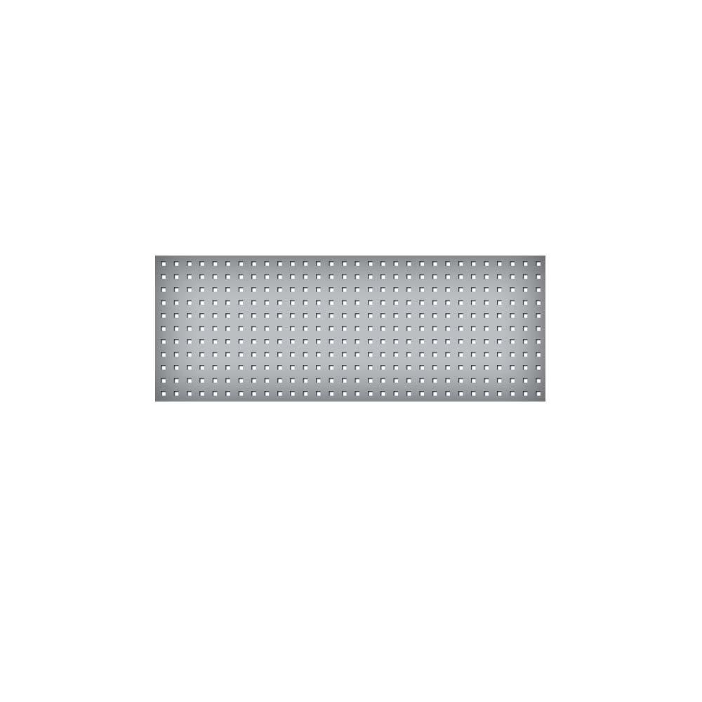 system lochplatte bxh 1200x450 mm aus 1 25 mm stahlblech kunststoffbeschichtet in lichtgrau. Black Bedroom Furniture Sets. Home Design Ideas
