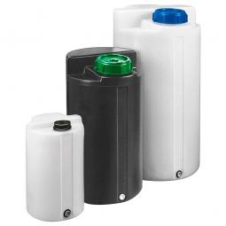 FD-E 200 Dosierfass, Inhalt 200 Liter, ØxH 550x1030 mm, natur-transparent