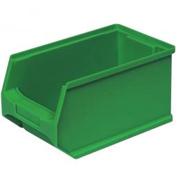 Sichtbox PROFI LB4, grün, Inhalt 2,9 Liter., LxBxH 235x145x125 mm, innen 195x125x115 mm.