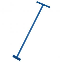 Rollerstange für Transportroller, blau